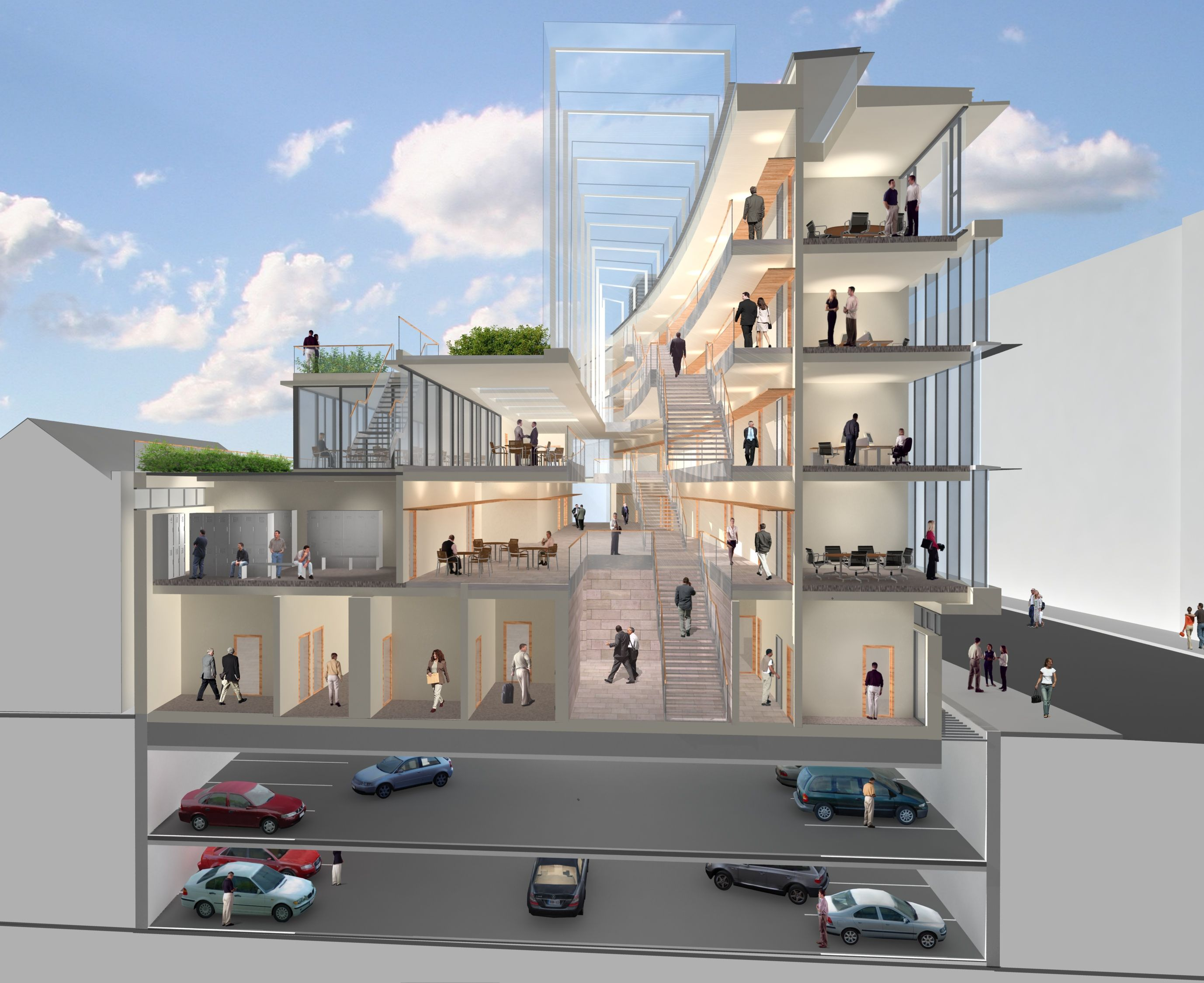 Concrete Floor Apartment Kevin Street Garda Station Ballygorman Contracts
